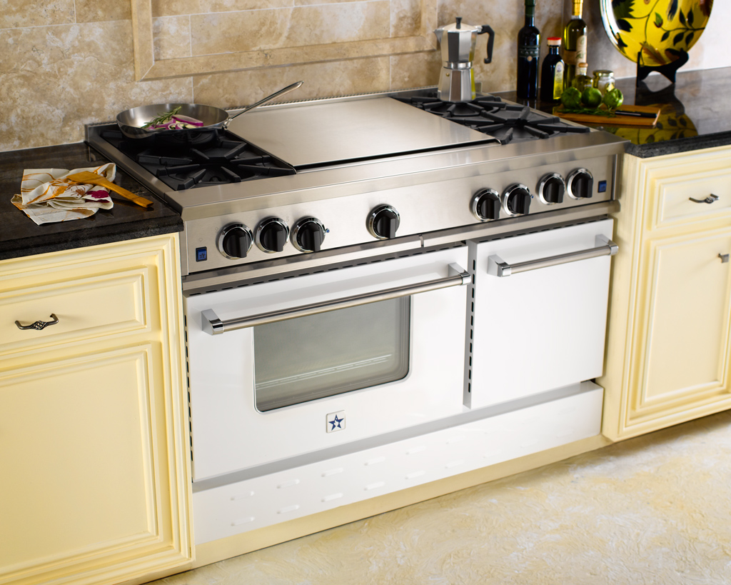 Kitchen Stove With Griddle Images